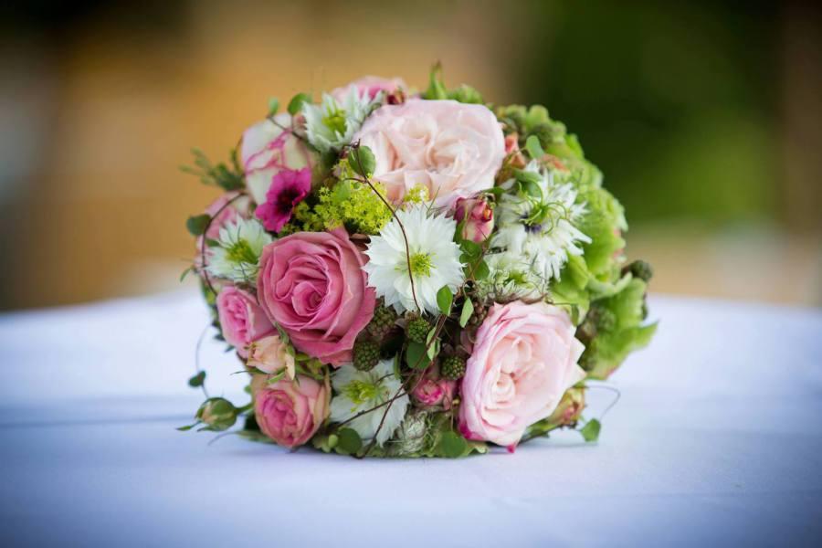 Blumen Sprechen Lassen Hochzeitsdekoration Rosenheim Brautstrauss